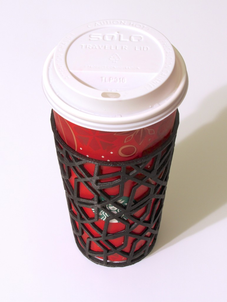 Custom Sleeve for Coffee or Tea Cups