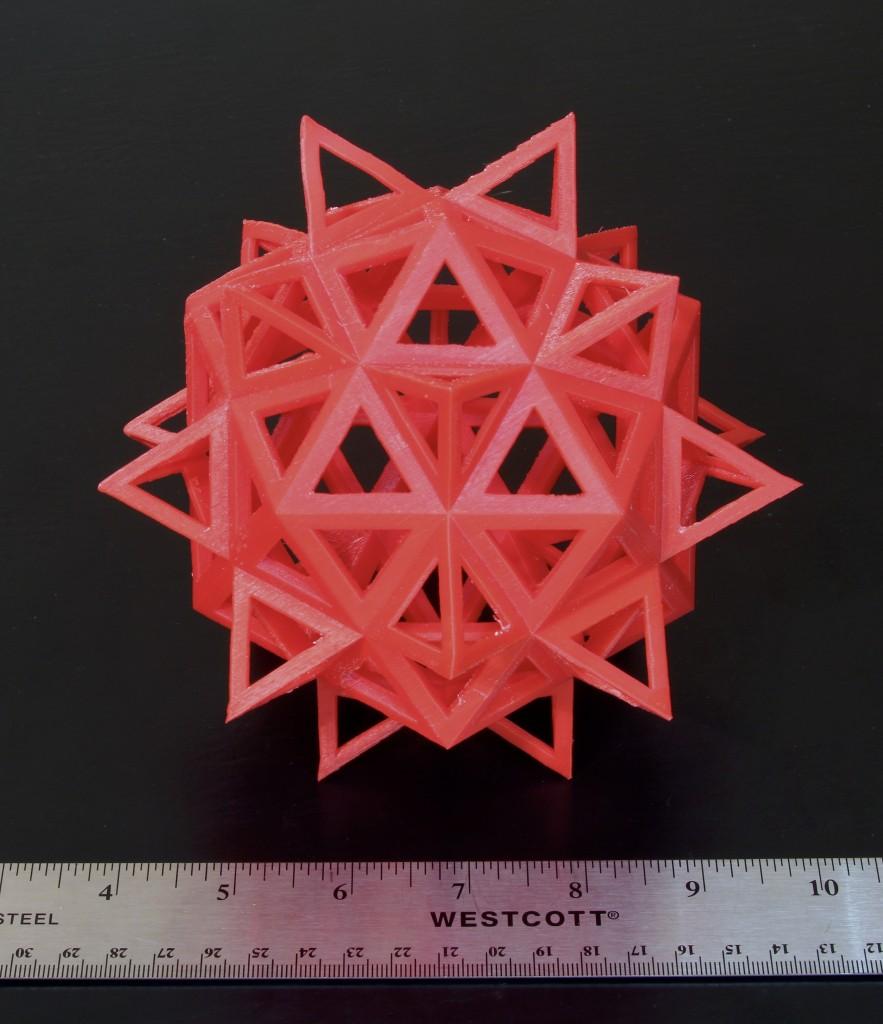 Polyhedron by Leonardo da Vinci