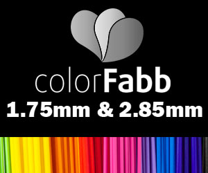 ColorFabb 1.75mm & 2.85mm PLA/ABS 3D Printing Filament