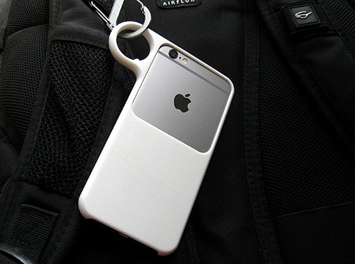 3D printed ring case for iPhone 67.