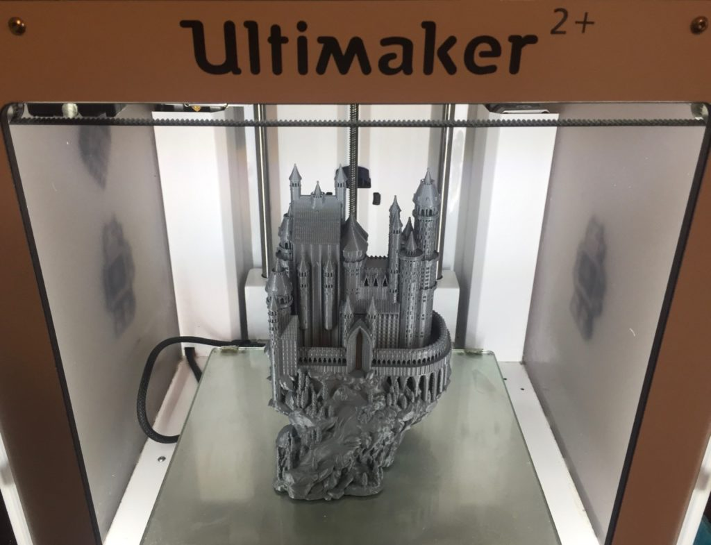 Castle Printed on the Ultimaker 2+